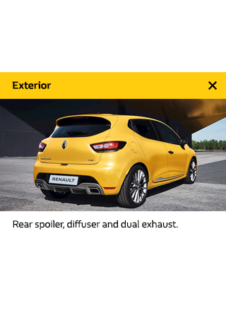 Renault Cars | Clio RS - 360 Imagery
